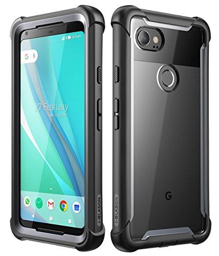 i-Blason Pixel 2 XL Bumper Case with Built-in Screen Protector