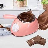 KIYANA Chocolate Candy Melting Pot Electric Chocolate Fountain Fondue Chocolate Melt Pot Melter Machine DIY Kitchen Tool