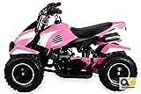 Miniquad Kinder ATV pink/weiß - 2