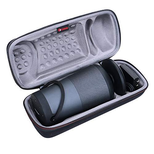XANAD Hard Travel Carrying Case for Bose SoundLink Revolve+ Portable & Long-Lasting Bluetooth 360 Speaker - Storage Protective Bag (Grey)
