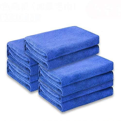 Wuli Paños de limpieza de coche, paños de secado automático, cuidado del coche, pulido y lavado en casa, toalla de coche, paño de limpieza interior del coche, toalla de coche