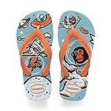 Havaianas Kids Radical, Infradito Unisex Bambini, Multicolore (Blue/Orange 2609), 23/24 EU
