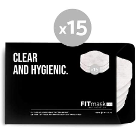 FITmask Pack 15 filtros Pro FM002SP