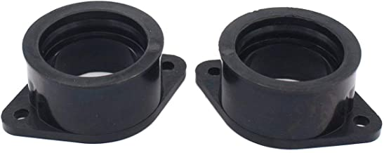 MOTOKU Pack of 2 Carburetor Intake Manifold Boot Joint for Kawasaki 440 LTD KZ440B KZ440G Carb Insulator