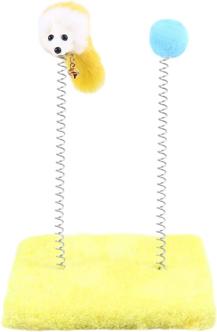 New product!! Daily bargain sale VILLCASE Spring Mouse Pole Funny Fuzzy Rat Pet Playt Ball