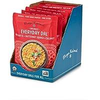 6-Pack Maya Kaimal Organic Indian Red Lentil Everyday Dal, 10 oz