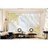 Lovemq 3D Hd The Custom Murals, Europa Tipo Restauración De Formas Antiguas Patrón Decorativo De Mármol, Sala De Estar Sofá Tv Pared Dormitorio Dormitorio Papel-240X165Cm