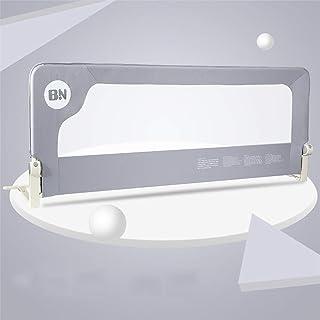 (Newox) ベッドガード ベッドフェンス 幼児用 転落防止 折りたたみ (Grey, 150cm)