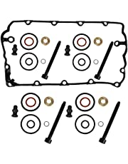 4 x BOSCH kit de sellos para inyector incl. Tornillos + VDD Válvula Tapa Junta Bomba Boquilla Juego de juntas Reparación 1.9 2.0 TDI Motorcode BKC BMM BLS BPW ATD AXR ASZ BLT