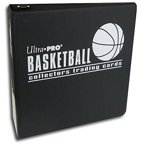 Ultra Pro 7,6 cm schwarz Basketball Album