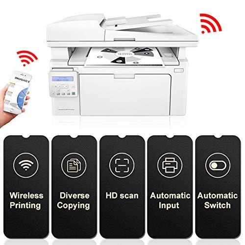TANCEQI Wireless LED Drucker All-In-One(Automatischer Papiereinzug, Hochgeschwindigkeitsdruck, USB 2.0, Fast Ethernet, Wireless, 600 × 600 DPI)