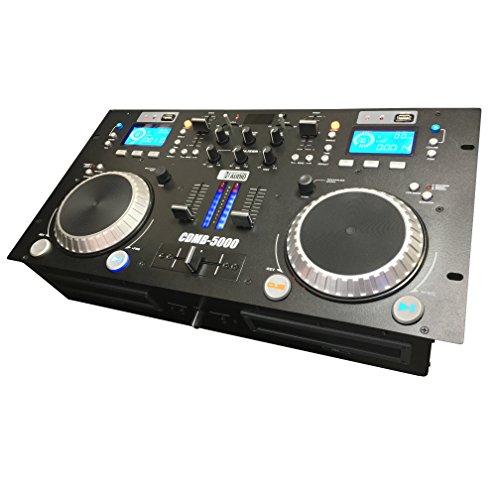CDMB-5000 Dual Media Player Mixer Combo - CD - USB - MP3 - Bluetooth - Adkins Pro Audio