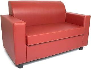 Amazon.it: divani pelle - Rosso