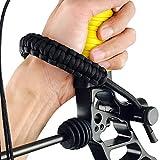 Wallfire 1pc Bogenschießen Bogenriemen einstellbar dauerhafte Verbindung Bogenschießen Handgelenk Schlinge Seil geflochtene Schnur für Erwachsene Männer und Frauen