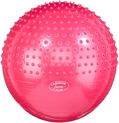 Carnegie Gymnastikball Ø 65 Noppen Massageball Sitzball Bürostuhl 300 kg + Pumpe