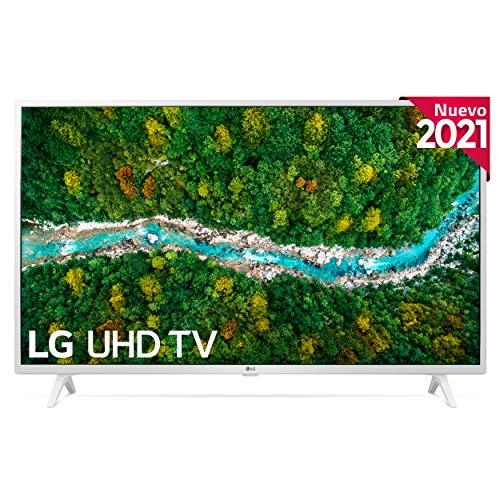 "LG 43UP7690-ALEXA 2021-Smart TV 4K UHD 108 cm (43"") con Procesador Quad Core, HDR10 Pro, HLG, Sonido Virtual Surround, HDMI 2.0, USB 2.0, Bluetooth 5.0, WiFi"