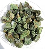 Chrysopras aus Madagaskar, 300g. Rohsteine (1 kg = 24,33