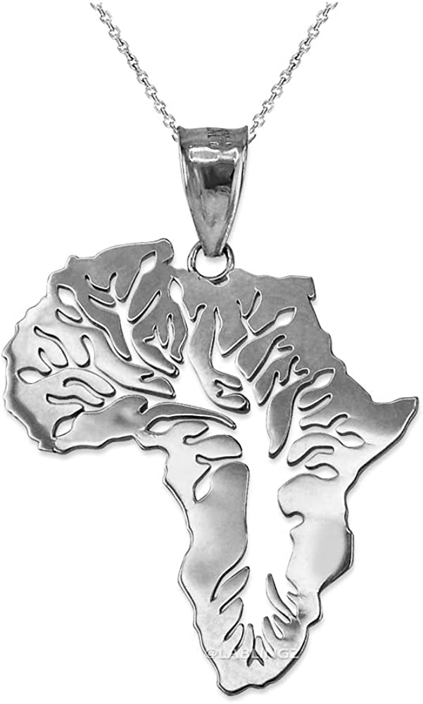 Sterling Silver Africa Tree Necklace Max 42% OFF of Life Super popular specialty store Pendant