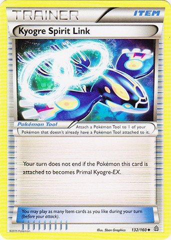 Pokemon - Kyogre Spirit Link (132/160) - XY Primal Clash