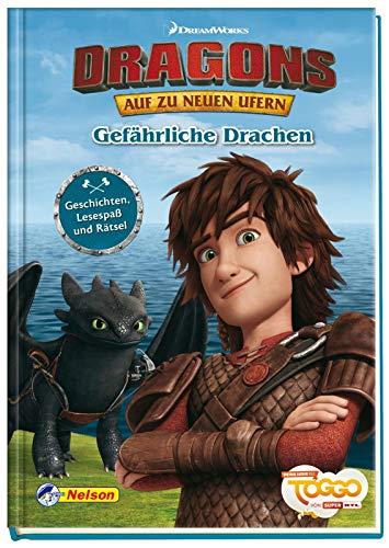 Dreamworks Dragons - Auf zu neuen Ufern: Gefährliche Drachen: Geschichten, Lesespaß und Rätsel
