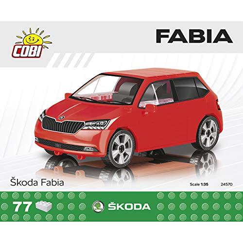 COBI 24570 Maqueta coche Skoda Fabia. Escala 1:35 (77piezas