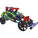 K'Nex Rad Rides Set-206 Parts-12 Models-Ages 7 and up-Creative Building Toy Juguete de construcción, multicolor (15214) , color/modelo surtido