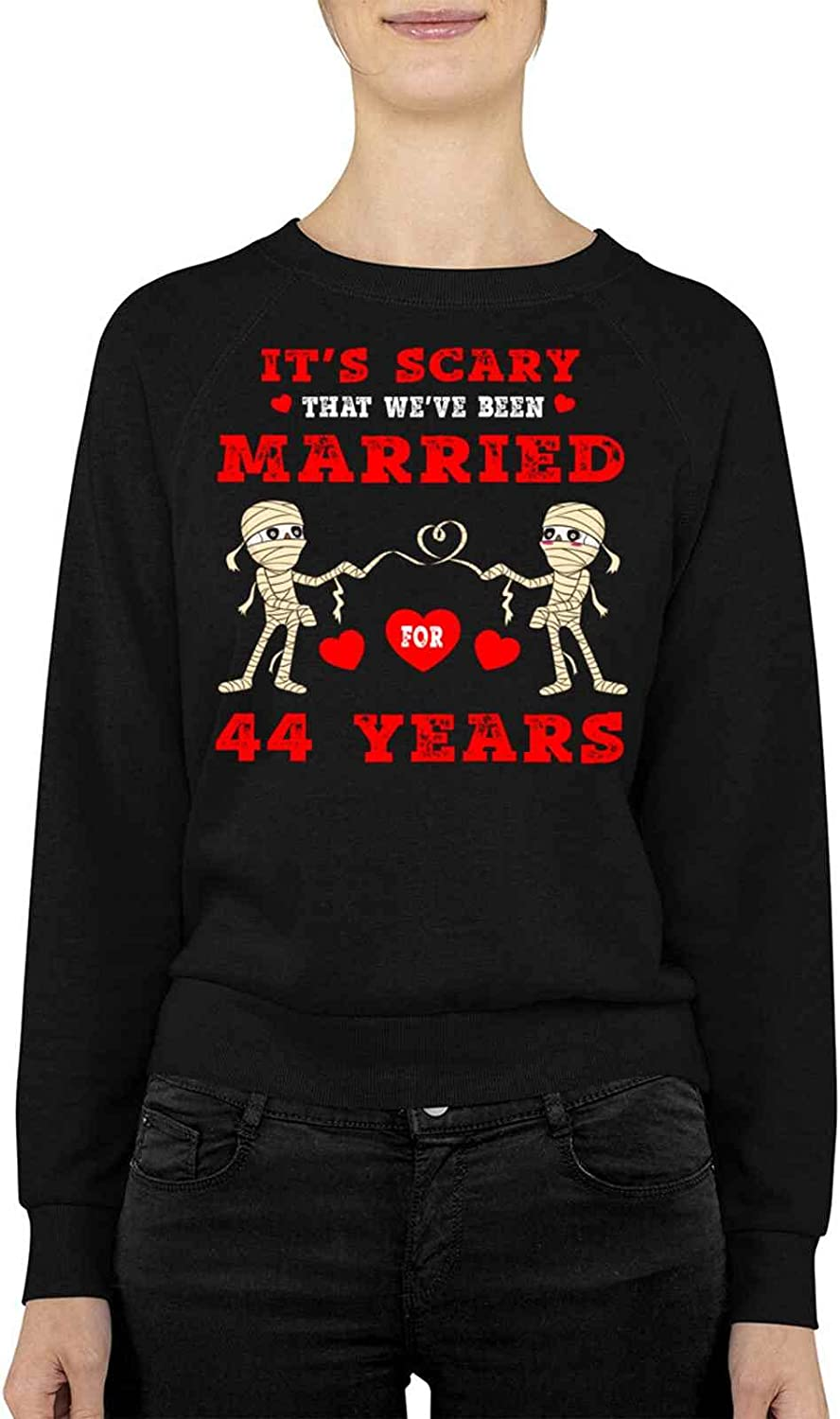 Many All items free shipping popular brands Funny Fe8 ITS SCARY MARRIED 2 FOR Birthday Present Ann For YEARS
