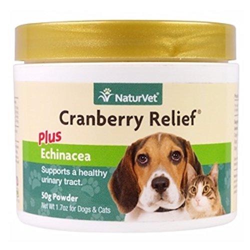 NaturVet - Traitement infection urinaire chien/chat à la canneberge 50 g