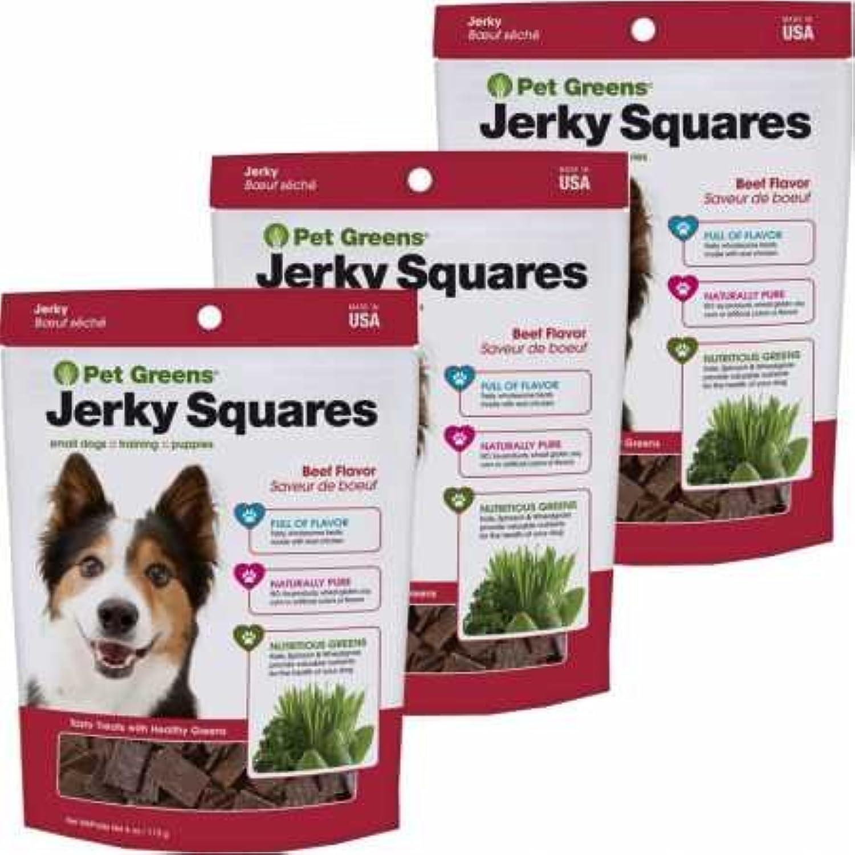 Greens Jerky Treats Savory Beef 3PACK (12 oz) Dog Pet nujskn1100-New