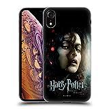 Oficial Harry Potter Bellatrix Lestrange Deathly Hallows VIII Carcasa de Gel de Silicona Compatible con Apple iPhone XR