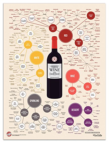 Wine Folly Different Types of Wine Poster Print (18