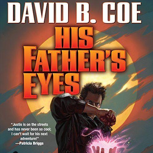 His Father's Eyes audiobook cover art