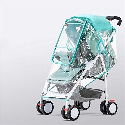 Mrjg Kinderwagen Regen Abdeckung transparenter Wetterschutz Vollabdeckungs-Schild-Windows-Spaziergänger Breathable Entwurf Kinderwagenzubehör (Color : B01)