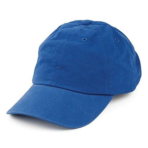 Village Hats Casquette en Coton Délavé Bleu Roi - Bleu Roi - Ajustable
