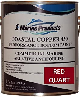 Coastal Copper 450 Ablative Antifouling Bottom Paint RED QUART