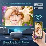 Zoom IMG-1 proiettore wifi mini videoproiettore portatile