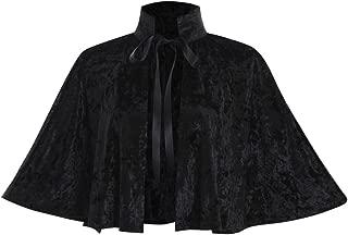 COUCOU Age Velvet Collar Shawl Short Cloak Cape Women Dress Accessories