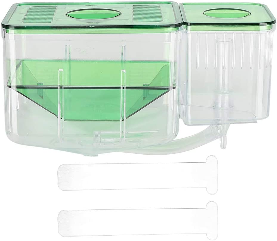 Soapow Aquarium Fish Tanks Spring Japan Maker New new work one after another Breeding Box Double- Little Laye