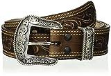 Nocona Men's San Antonio Usa Brown Belt, 42