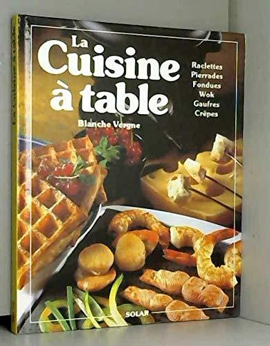 pas cher un bon Cuisine sur la table.  Bols, pierres, fondue, woks, gaufres, crêpes, etc…