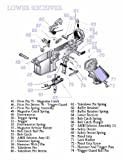 ConversationPrints AR-15 Lower Receiver Diagram Glossy Poster Picture Photo Guns Rifles Weapon Parts