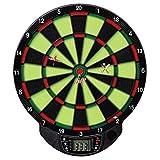 Best Sporting elektronische Dartscheibe Windsor - Dartboard Glow In The Dark mit 6 Pfeilen, batteriebetriebener Dartautomat