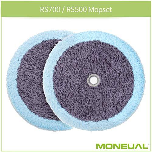 Moneual Mikrofaserpad (2 Stück) für Everybot RS700