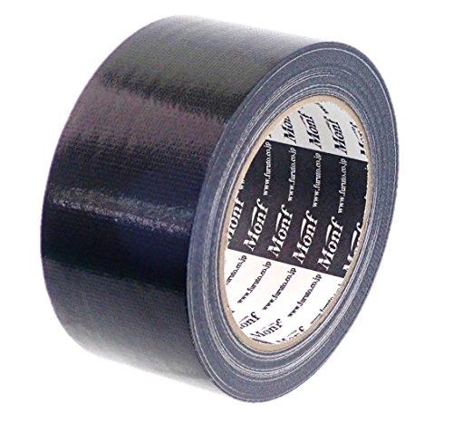 古藤工業(Furuto) ガムテープ 布 黒 50㎜×25m 1巻 AE1101BK