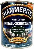 Hammerite, Metall-Schutzlack Hammerschlag, 0,75 Liter - dunkelgrün