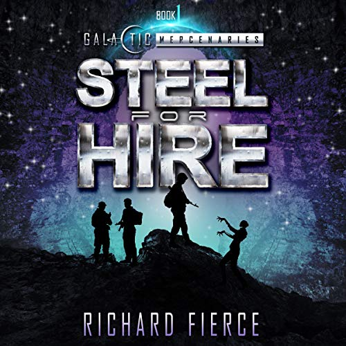 Steel for Hire audiobook cover art
