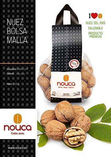 Nueces con cáscara - 3 kg (Caja con 6 bolsas de 500g) - Producto 100% de origen español