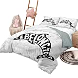 Nomorer 3 Piece Quilt Set Queen Size Dolphin Soft Lightweight Coverlet for All Season Ocean Creatures Quote