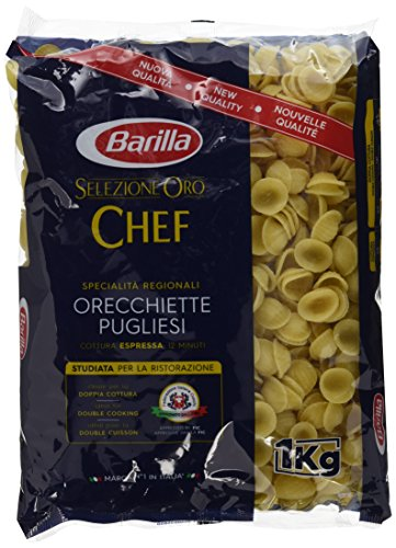 Barilla Selezione Oro Chef Orecchiette Pugliesi, 9er Pack (9 x 1kg)