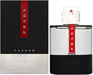 PRADA Luna Rossa Carbon Eau De Toilette Perfume For Men, 100 ml